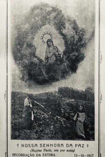 Imagem de Nossa Senhora de Fátima com os Pastorinhos
