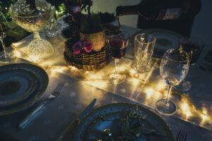 Imagem de mesa de natal