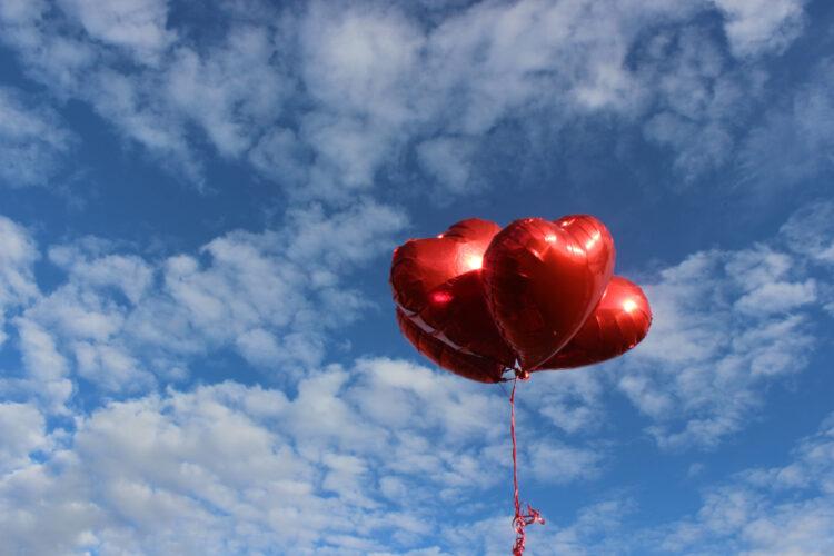 Imagem de Balões de corações