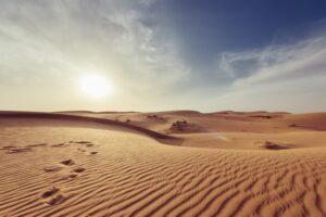 imagem de deserto