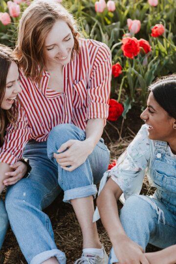 imagem de 3 amigas